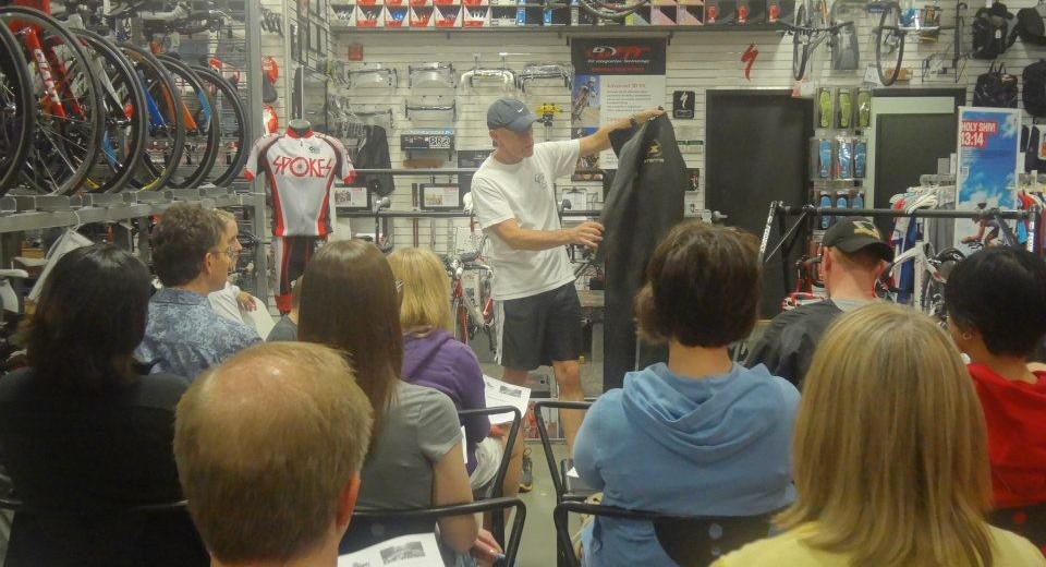 tri101 clinic at spokes