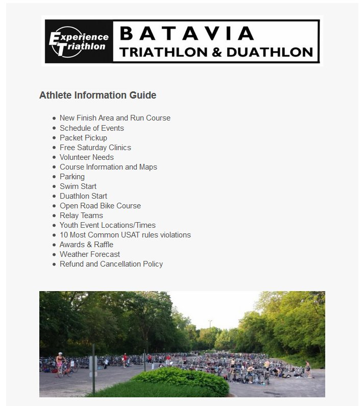Athlete info guide pic